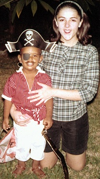 Stanley Ann Dunham and her son 6-year-old son,            Barry Obama or Barack Obama will be the American Emperor in 2008