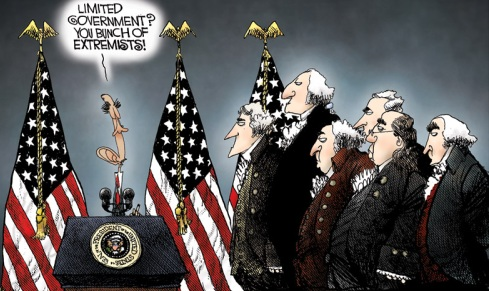 Obama - Limited Government sucks? Yes, Obama does think limited government sucks