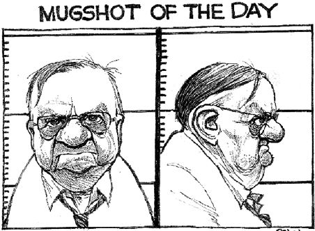 Sheriff Joe's mug shot of the day - a real government tyrant and criminal!