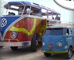 Walter the Bus - Walter the oversized VW microbus!!!!!